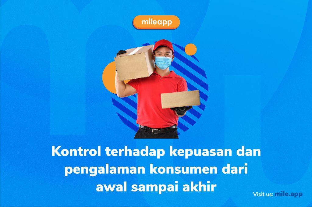 Bisnis pengiriman pakai kurir sendiri